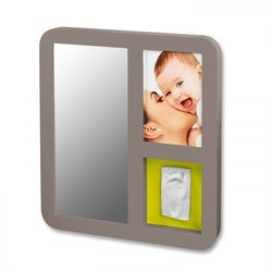 Baby art  ramka z lusterkiem szary 34120087