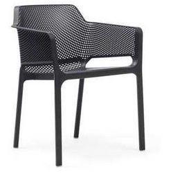 Krzesło ogrodowe do restauracji Net Nardi czarne