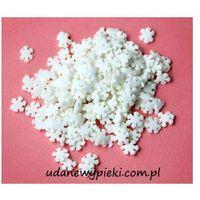 Posypka cukrowa - płatki śniegu białe - 20g u od producenta Daisy decor