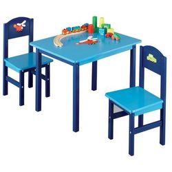 Zeller Stolik dziecięcy boys + 2 krzesełka, (4003368134727)
