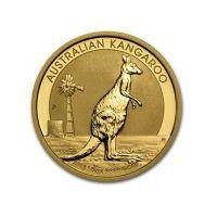 1/2 uncji Australijski Kangur - Złota Moneta Rocznik 2017, towar z kategorii: Numizmatyka, filatelistyka