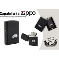 Zapalniczka  8-ball black matte marki Zippo