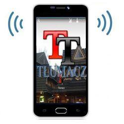 Blackview Profesjonalny tłumacz mowy (105-języczny!!) + słownik + smartfon + aplik. podróżnicze + internet...
