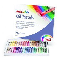 Pastele olejne Pentel 36 kolorów z kategorii artykuły szkolne i plastyczne