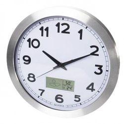Zegar stacja pogody sterowany radiem dcf /35cm marki Atrix