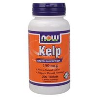 Now foods, usa Now foods kelp 150mcg 200 tabl.