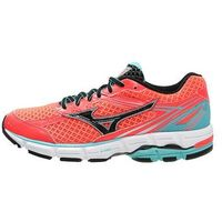 Mizuno WAVE CONNECT 3 Obuwie do biegania Stabilność rouge red/black/capri (5054698091876)