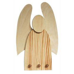 Drewniany wieszak - anioł marki Creativehobby