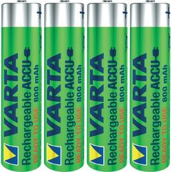 4 x akumulatorki Varta Ready2use R03/AAA Ni-MH 1000mAh (4008496550616)