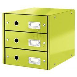 Pojemnik Leitz Click&Store z 3 szufladami zielony 604800