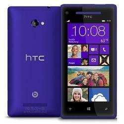 HTC Windows Phone 8X 16GB Niebieski - Niebieski \ 2 lata na terenie całego kraju + polskie menu + bez sim loc