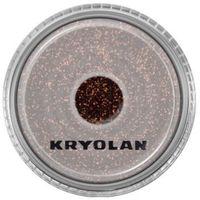 Kryolan  polyester glimmer medium (bronze) średniej grubości sypki brokat - bronze (2901)