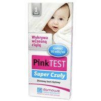 Pink super czuły test ciążowy płytkowy x 1 sztuka marki Hydrex
