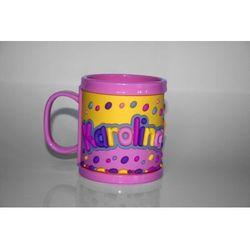 Kubek imienny dla dziecka, Karolina - produkt dostępny w Smyk