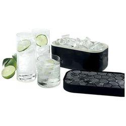 Pojemnik na lód i foremka ice box czarny (0250400n01c002) marki Lekue