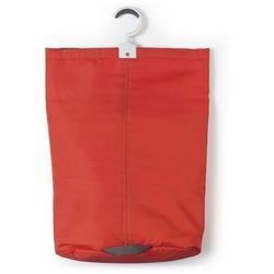 - torba na pranie z hakiem - czerwona marki Brabantia