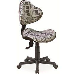 Fotel obrotowy młodzieżowy SIGNAL Q-G2 TEXT