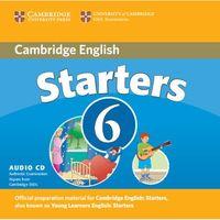 Cambridge English Starters 6. CD do Podręcznika, Cambridge University Press