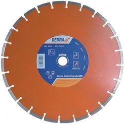 Tarcza do cięcia DEDRA H1173 350 x 25.4 mm Laser Beton diamentowa + DARMOWY TRANSPORT! (tarcza do cięcia)
