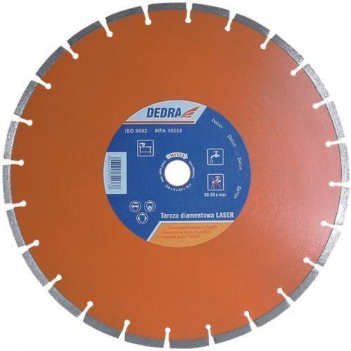 Tarcza do cięcia DEDRA H1173 350 x 25.4 mm Laser Beton diamentowa + DARMOWA DOSTAWA! (tarcza do cięcia)
