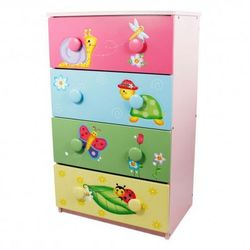 Komoda z szufladami Magiczny ogród - produkt z kategorii- Pozostałe meble do pokoju dziecięcego