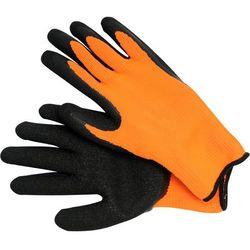 Rękawice robocze VOREL 74148 Czarno-pomarańczowy (rozmiar 10)