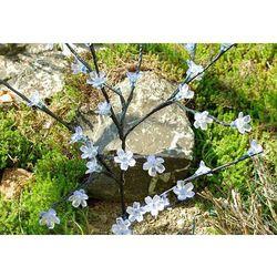 Solarne lampki kwiatowe drzewo Garth 36 LED ciepło-biała