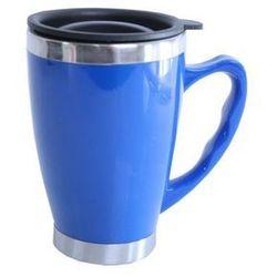 Smart kitchen Termos kubek nierdzewny modern niebieski 0,45 l - niebieski \ 0,45l