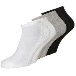 Calvin Klein Underwear BONUS LINER 6 PACK Skarpety white/oxford heather/black z kategorii Bielizna sportowa m�