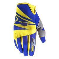 Axo Rękawice  sx niebiesko-żółte