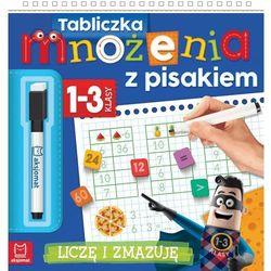 Tabliczka mnożenia z pisakiem klasy 1-3 liczę I zmazuję (9788381062800)