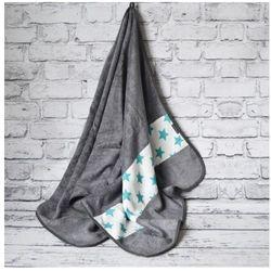 Camphora studio Bambusowy ręcznik kąpielowy, star / szary, 70x140 cm,
