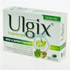 Ulgix trawienie x 30 kaps, postać leku: kapsułki