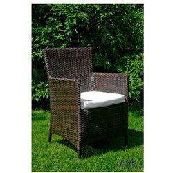 """Pozostali Krzesło ogrodowe """"gustoso""""- ciemny brąz"""