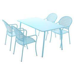 Zestaw mebli ogrodowych HOME&GARDEN Maja Blue 4+1 926012