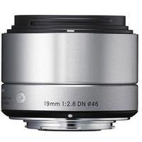 Obiektyw SIGMA 19mm F2.8 DN Srebrny (Sony)
