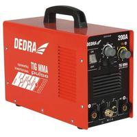 Dedra Spawarka inwentorowa  desti203p mma/tig pulse 200a + darmowa dostawa!