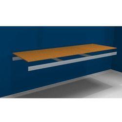 Dodatkowa półka, z trawersami i płytą wiórową, szer. x gł. 2500 (2x1250 mm) x 80 marki Julius vom hofe