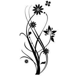 Szablon malarski, wielorazowy, wzór Radość wiosny - flora 146