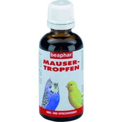 Beaphar Mausertropfen preparat witaminowy łagodzący proces pierzenia 50ml