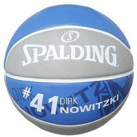 Spalding NBA PLAYER Piłka do koszykówki grau/royal