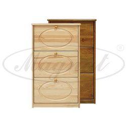 Szafka na buty sosnowa nr8, produkt marki Magnat - producent mebli drewnianych i materacy