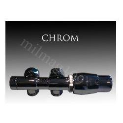 Zestaw zaworów grzejnikowych termostatycznych TWINS prawy CHROM z kategorii Zawory i głowice