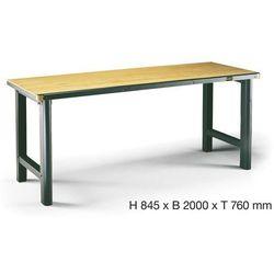 Hazet  stół warsztatowy 130-1 hazet 130-1 wymiary:(dxsxw) 760 x 2000 x 845 mm