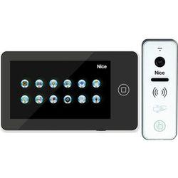 Wideodomofon NICE Pro BPlus 7'' obsługa bramy wjazdowej + czytnik breloków