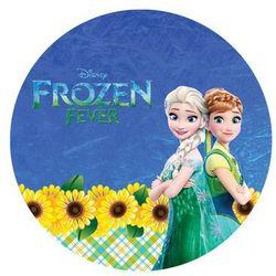 Dekoracyjny opłatek tortowy frozen feever - anna i elsa - 20 cm - 11 marki Modew