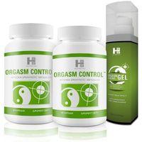2x ORGASM CONTROL 60 tabletek + Orgasm Control+ Gel 100ml, kup u jednego z partnerów