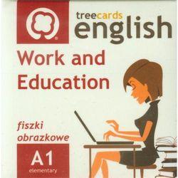 FISZKI Treecards Work and Education A1 Vocabulary, produkt marki praca zbiorowa