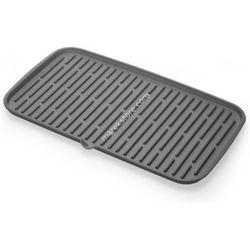 Ociekacz silikonowy do suszenia naczyń 42x24 cm - odcienie szarości - produkt dostępny w Uporządkuj.pl