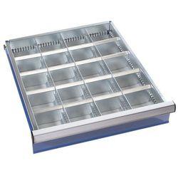 Zestaw przegród do szuflad, 16 przegród poprzecznych, wys. szuflady 150 mm. Ocyn